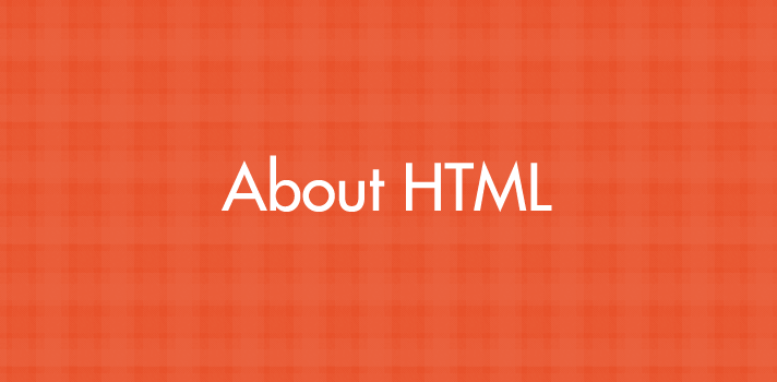 About HTML
